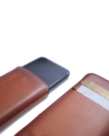 Etuir en cuir pour iphone