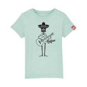 T-shirt enfant Kickasss Mariachi (caribbean blue)