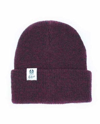 Bonnet kickasss classic dark heather burgundy