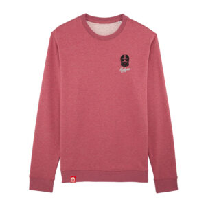Sweat homme Kickasss Driver Broderie (heather cranberry)
