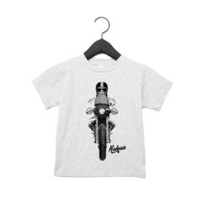 T-shirt bébé moto Kickasss Driver 20 (sport grey)