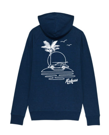 Sweat-shirt à capuche pour homme Kickasss All I Need (black heather blue)