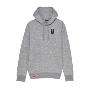Sweat à capuche Kickasss Driver Broderie (slub heather grey)
