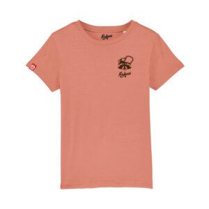T-shirt brodé Kickasss Gaston le racoon