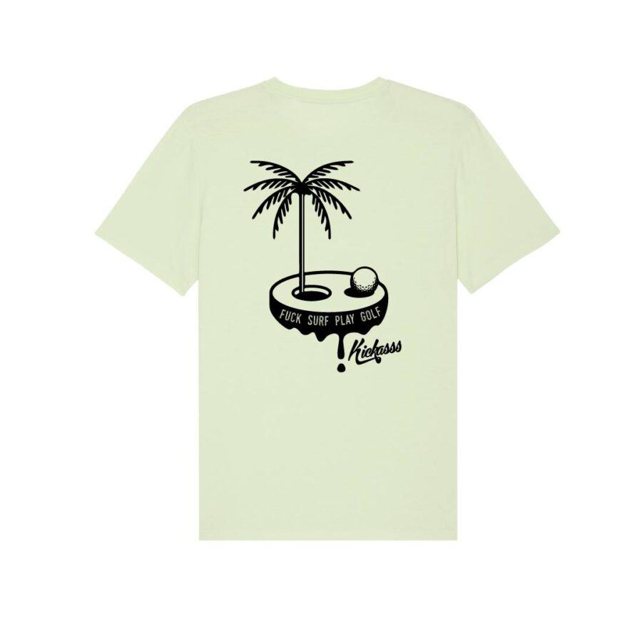 T-shirt Fuck Surf Play Golf